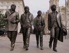 The Beatles (perseverando) Tags: beatles band group liverpool 1960s statue bronze pierhead mersey waterfront threegraces perseverando