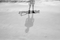 Photo29_32 (Johann Kp) Tags: 35mm black white bnw ilford fp4 125 shootfilm estonia explore doubleexposure double exposure people shadows light shadow quarry sand life death silhouette sun sunlight day canon 50e mood moody monochrome
