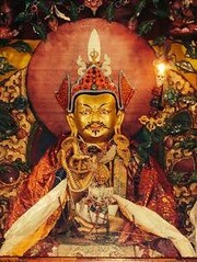 Padmasambhava 10.5 (indiariaz) Tags: guru tibet landofsnows himalyankingdom invadedbychinese suffering monk lama realizedbeing siddha mahasiddha 84mahasiddhas buddhism buddha gompa chanting sandmandala meditation retreat devotee saint enlightenment enlightened dalailama tetron scripture rinpoche rimpoche reborn nirvana secretteachings indianyogi indianteachersintibet schools monastery nuns khandro cave prostration yak yakbutter lhasa chod kadamba vajra vajraverses vajragita bodhicitta bodhitree bardo momo transmission intense lineage bonreligion fourmajortraditionsnyingma kagy sakyaandgelugemergedasaresultoftheearlierandlaterdisseminationofthebuddhistteachingsintibet andalsobecauseoftheemphasisplacedbygreatmastersofthepastondifferentscriptures techniquesofmeditationand insomecases termsusedtoexpressparticularexperiences whatiscommontoallthefourmajortraditionsoftibetanbuddhismistheiremphasisonthepracticeoftheentirestructureofthebuddhistpath whichcomprisestheessenceofnotonlythevajrayanateachings butalsothemahayanapracticesofthebodhisattvas andthebasicpracticesofthefundamentalvehicleinindia basedondifferencesinphilosophicalstandpoint fourmajorbuddhistschoolsofthoughtemergedvaibhashika sautrantika yogacharaandmadhyamakaallfourmajortraditionsoftibetanbuddhism however upholdthephilosophicalstandpointofthemadhyamakaschool andtothatextent therearenofundamentalphilosophicaldifferencesbetweenthem
