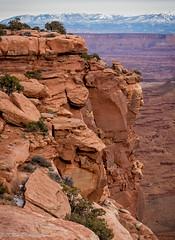 Canyon Cliffs (KRHphotos) Tags: sandstoneformation utah landscape canyonlandsnationalpark canyon cliff nature
