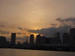 (ishizima) Tags: cloud sky epl6 olympuspen olympus japan tokyo sunset    jp