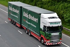 Stobart M476 MX64 GSU Felicity Jane M6 Penrith 1/6/16 (CraigPatrick24) Tags: eddiestobart stobartgroup stobart road vehicle transport truck lorry trailer delivery logistics cab scania scaniar450 m6 penrith felicityjane m476 stobartcurtainsider curtainsider drawbar roadtrain mx64gsu