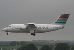 SE-DJN RJ85 Braathens Regional (corkspotter / Paul Daly) Tags: sedjn british aerospace avro rj85 e2231 l4j 4a914e twe 5t transwede airways 1993 g6231 20070601 hbixg ork eick cork braathens regional malmo aviation
