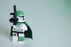 clone commando v2 (my name is schimmi) Tags: lego star wars custom gun brickarms clone commando green battle