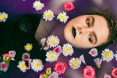 Rub a dub dub (Emily5782) Tags: selfportrait people flowers bathtub