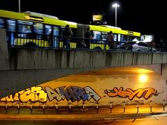 Akira  Hope (Walls of Belgrade) Tags: belgrade beograd brankovmost streetart serbia spraypaint graffitibombing wall underpass nightphotography akira hope