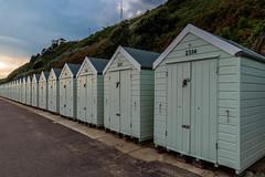 Beachhuts in Bournemouth (orkell) Tags: kofar sigma24mmf14dghsmart huts beach england nikond750 bournemouth 2016