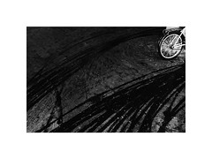 wheels (Marek Pupk) Tags: central europe slovakia wheels bicycle blackandwhite bw monochrome documentary