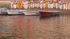 VaranasiSunrise072 (tjabeljan) Tags: india benares varanasi ghat ganges hindu cremation bath bathing pelgrim