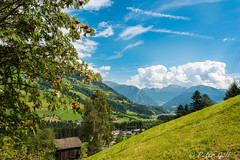 Landscape with tree and clouds (pego28) Tags: sdtirol italien italy southtyrol natur nature holiday vacation urlaub 2016 nikon nikkor d800 ratschings berge alpen hill mountain alps wandern hike tramp landschaft landscape stange grn green sterzing stanghe mountainracines wolken clouds sky blue blau