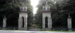 [44899] Rufford Abbey : Western Gates (Budby) Tags: rufford nottinghamshire abbey gates victorian