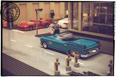 Seen at the Skaerbaek Fan Weekend - 007 (Priovit70) Tags: lego moc miniland vehicles diorama afol skaerbaekfanweekend 2016 event olympuspenepl7
