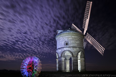 Portal to another world (Explored!) (JRT ) Tags: longexposure sky lightpainting building windmill night clouds nikon tripod led chesterton nutters portaltoanotherworld chestertonwindmill nuttyboys d300s nightnutters lenserv24 ad1632 johnwarwood thenightnutters
