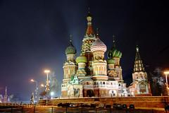 petite marche sur la nuit à Moscou (moscouvite) Tags: hiver cathédrale nuit russie moscou sonydslra450 heleneantonuk