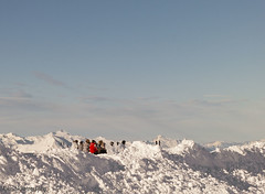 Time out ! (Astrid Photography.) Tags: winter people panorama mountain snow france cold sunshine landscape frost skiing view savoie lesmenuires mountainpeaks les3vallees supershot abigfave astridphotography