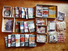 More and more (mini books) (LaWendeltreppe) Tags: art collage minibooks