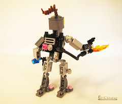 Alien Mercenary Lady (Bricknave) Tags: lego alien figure scifi moc mercenary bricknave