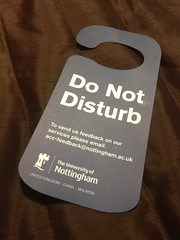 Do Not Disturb (CraigMoulding) Tags: sign donotdisturb iphone4s