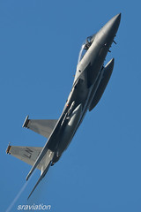 F-15C Eagle (Steve Cooke-SRAviation) Tags: canon airplane eos action aircraft f15 lakenheath 48fw f15ceagle raflakenheath eos1dmk3 mcdonnelldouglasf15eagle ef500f4lis 48thfighterwing 493fs