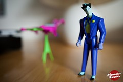 Wildcard Joker (Nerd Gazette) Tags: toy actionfigure nikon 28mm january kenner dccomics fullframe fx 18g 2013 d700 thenewbatmanadventures justinjayubo wildcardjoker justinhasacamera