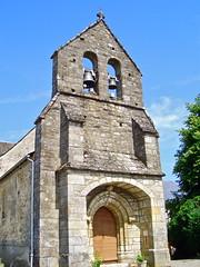 Église Saint-Martial de Saint-Martial-Entraygues (MickyFlick) Tags: france church architecture architectural historic historical eglise correze francais limousin saintmartialentraygues mickyflick