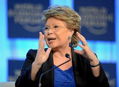 Women in Economic Decision-making: Viviane Reding (World Economic Forum) Tags: switzerland davos wef che congresscentre worldeconomicforum annualmeeting congresscenter plenarysession s165 am2013 improvingdecisionmaking