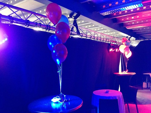 Tafeldecoratie 5ballonnen