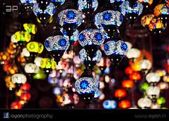 Turkish Mosaic Lamp (Ayan.Photography) Tags: lamp turkey bokeh mosaic istanbul kolkata turkish ottomanlamp turkishmosaiclamp