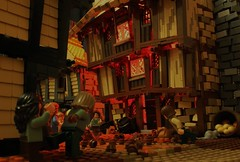 Im a firestarter (peggyjdb) Tags: house london fire lego timber awesome burn bakery snot greatfireoflondon 1666 tatch