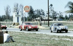 Going through the Webster turns at Sebring 1963 (Nigel Smuckatelli) Tags: auto classic cars race speed vintage classiccar automobile florida ferrari racing prototype hour passion legends vehicle autoracing 12 sebring sir endurance motorsports fia csi sportscar 1963 austinhealey wsc heures world sportauto autorevue historic championship raceway louis sebringinternationalraceway sebringflorida legends gp oldtimersport histochallenge manufacturers gp 1963 sebring motorsports nigel smuckatelli galanos manufacturers the12hourgrind