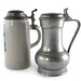 3011. (2) Antique Continental Steins