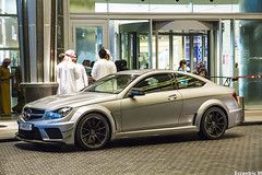Grey Series (Eccentric M) Tags: dubai uae mercedesbenz coupe amg qatar c204 blackseries c63 w204 thedubaimall