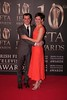 Tom Vaughan Lawlor and Guest at Irish Film and Television Awards 2013 at the Convention Centre Dublin