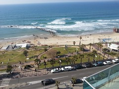 View from balcony, Bat Yam(3) (dlisbona) Tags: sea vacation holiday vacances israel telaviv view apartment flat rental location appartement luxury seaview batyam louer apartement sejour