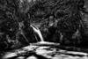 (AIIex) Tags: biancoenero cascata torrente nikkor1870dx alfina nikond90 subissone photivo
