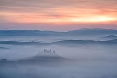 Mare di nebbia (Corsaro078) Tags: morning fog sunrise landscape hills tuscany belvedere toscana nebbia paesaggio cretesenesi visipix