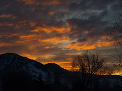 Morning Sky (abbey ornamental iron works) Tags: morning sky sunrise southpark wy