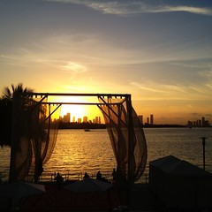 Amazing Sunset from Mondrian South Beach (miamism) Tags: sunset beach miami sunsets miamibeach mondrian biscaynebay miamiviews miamiskyline miamisunset miamibeachsunset miamicondos miamirealestate miamisky mondriansouthbeach condohotel miamibeachluxurycondos miamisms miamibeachhotels miamisunsets southbeachcondohotel miamibeachevents