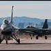 Aggressor F-16C and test F-15E