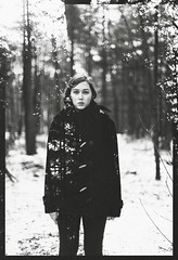 (daphne og.) Tags: portrait white selfportrait black nature forest photoshop self project landscape woods doubleexposure overlay double days 365 exposrue