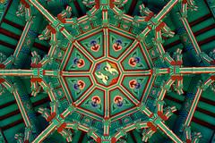 Designed By Koreans (Explored #183) (Yoonki Jeong) Tags: design pattern crane korea gazebo ceiling seoul pavilion tradition summerhouse 183    nationalmuseumofkorea