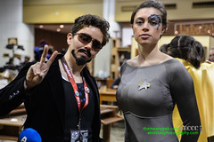 Emerald City Comic Con Day 2 Seven of Nine and Tony Stark (Socal Photography) Tags: startrek 2 day cosplay borg nine saturday 7 9 seven voyager tonystark emeraldcitycomicon emeraldcitycomiccon
