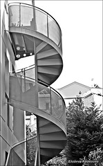 (Eleanna Kounoupa (Melissa)) Tags: blackandwhite architecture stairs architecturaldetails blackwhitephotos
