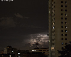 Chuva se aproximando (Daniel Silva Fotografia) Tags: night lightning sopaulo brasil