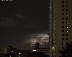 "Chuva se aproximando (Daniel Silva Fotografia) Tags: night lightning ""sãopaulo"" ""brasil"""