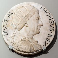 divus alf (mym) Tags: king god va aragon vanda marble diadem alphonsov