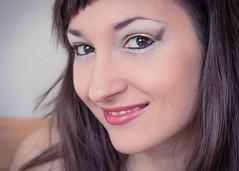 Moi (Ivana Vasilj) Tags: portrait woman selfportrait me girl smile face female eyes autoportrait makeup selfie canoneos650d ef40mmf28stm