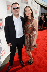 Wilson Cleveland and Eliza Dushku (Streamys) Tags: ca unitedstates hollywood celebrities cocacola leapyear hollywoodpalladium hiscox 2013 3rdannual dickclarkproductions tubefilter streamys streamyawards hulucelebritieshollywoodcaunitedstatesusa