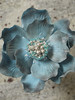 blue fantasy flower 1 (Scrummy Mummy's Cakes) Tags: blue caketopper chinablue fantasyflower