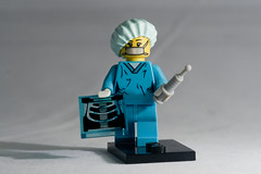 Surgeon (the_amanda) Tags: lego mask cap xray day66 scrubs surgeon project365